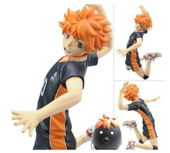 Anime Cartoon Haikyuu!! Hinata Syouyou Hinata Shoyo1/8 Scale 17CM PVC Action Figure Collectible Toy