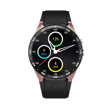 Kw88 smart watch 1.39 ''android 5.0 2.0mp kamera bluetooth smartwatch destek Sim Kart GPS 512 MB + 4 GB IOS Android için telefonlar